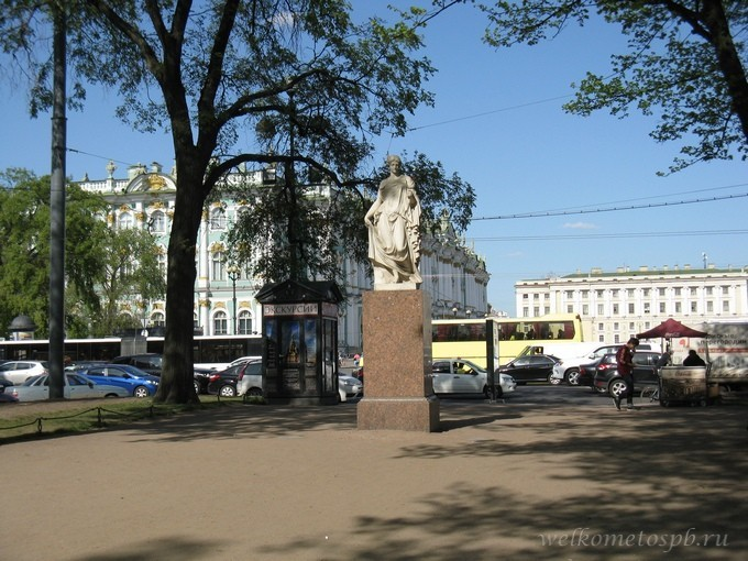 Флора Фарнеззская в Александровском саду
