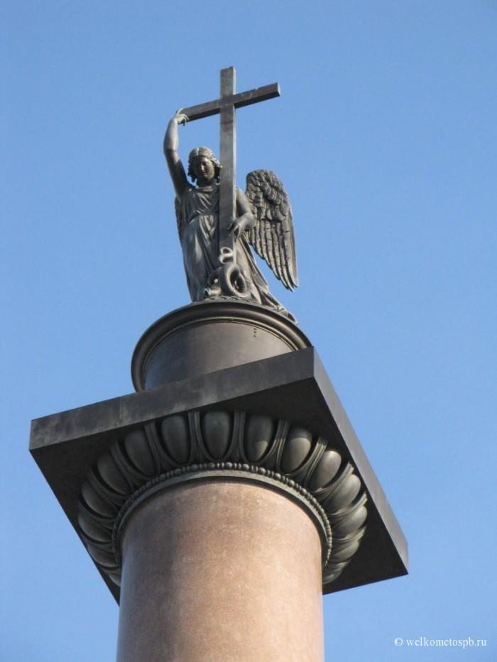 Александровская колонна. Ангел
