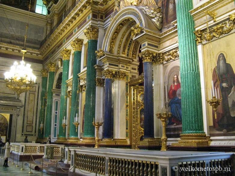 Исаакиевский собор. Иконостас