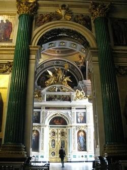 Исаакиевский собор. Придел Св. Екатерины