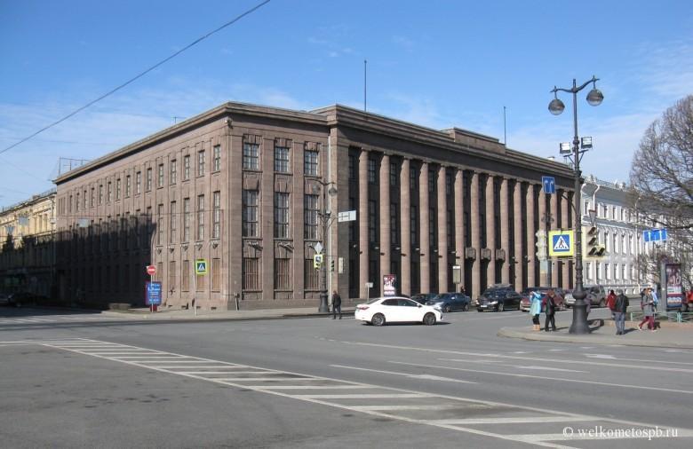 Здание Германского посольства