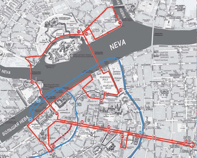 Второй маршрут автобуса