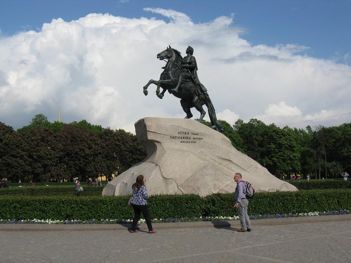 Новости Петербурга. Медный всадник