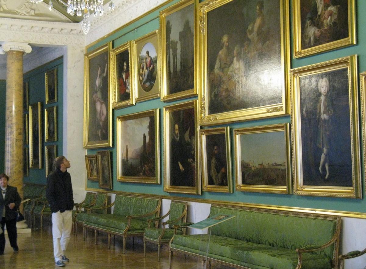 Строгановский дворец. Картинная галерея