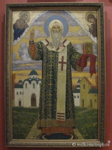 В.М. Васнецов, Святой Алексий