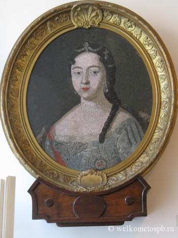 Мозаичный портрет цесаревны Анны Петровны