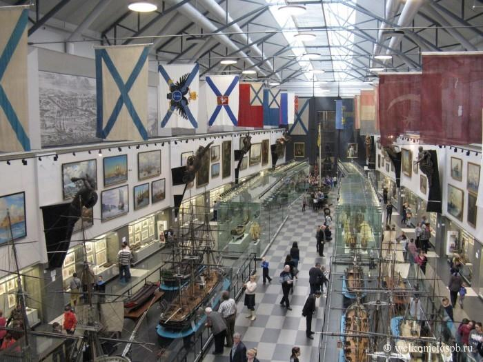 Зал славы в военно-морском музее