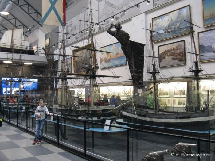 Зал славы в военно морском музее