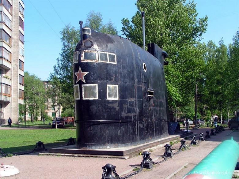 Внешняя экспозиция музея