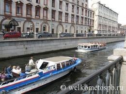 По рекам, каналам, Ладожскому озеру и Балтийскому морю