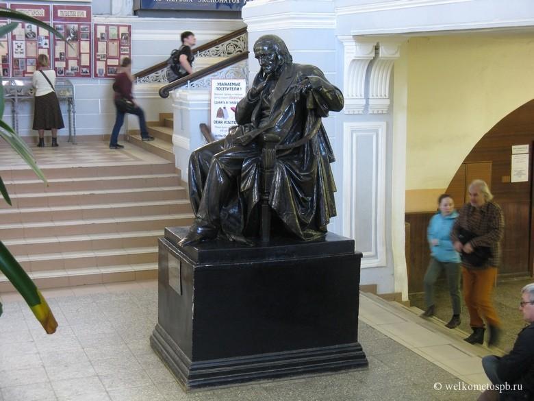 Памятник К. Бэру