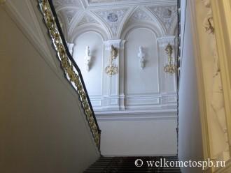 Парадная лестница Мариинского дворца